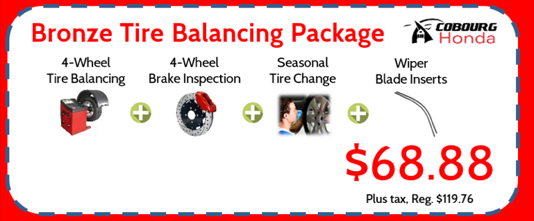 Bronze Tire Balancing Package