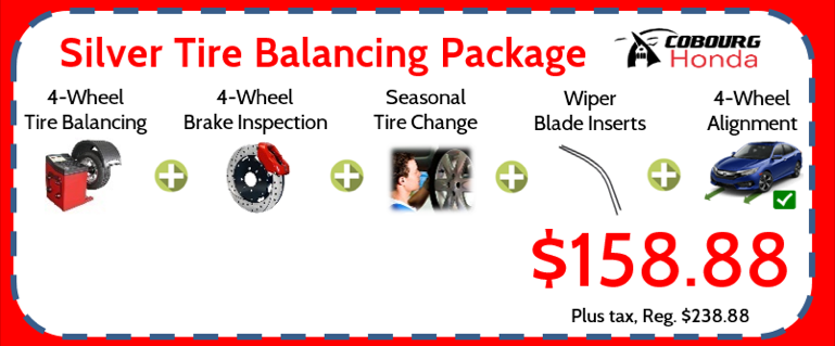 Silver Tire Balancing Package